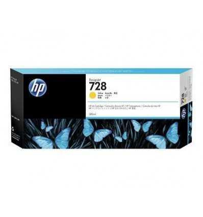 Cartouche d'encre DesignJet HP 728 - Jaune - 300 ml
