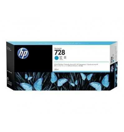 Cartouche d'encre DesignJet HP 728 - Cyan - 300 ml