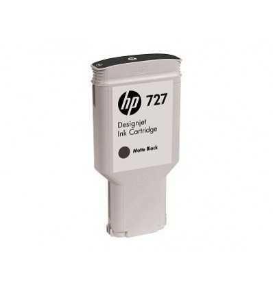 Cartouche d'encre DesignJet HP 727 - Noir mat - 300 ml