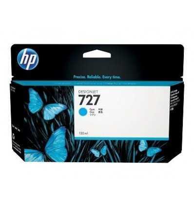Cartouche d'encre DesignJet HP 727 - Cyan - 130 ml