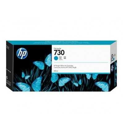 Cartouche d'encre DesignJet HP 730 - Cyan - 300 ml