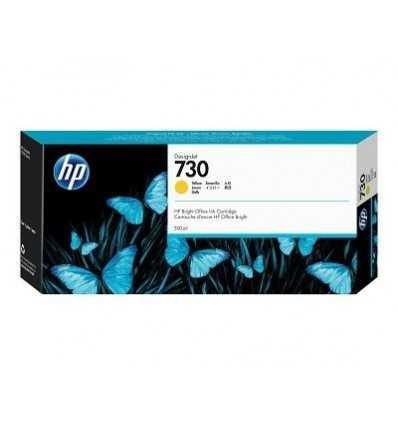 Cartouche d'encre DesignJet HP 730 - Jaune - 300 ml