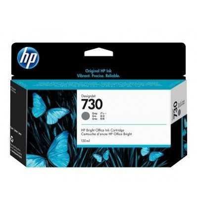 Cartouche d'encre DesignJet HP 730 - Gris - 130 ml