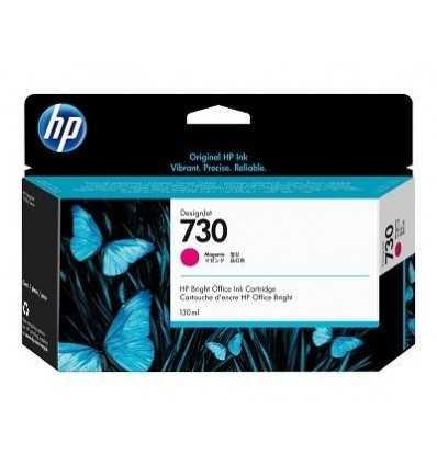 Cartouche d'encre DesignJet HP 730 - Noir mat - 130 ml