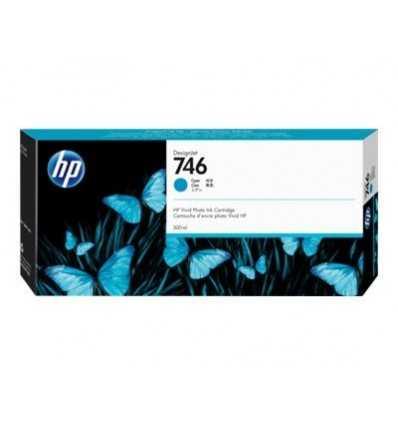Cartouche d'encre DesignJet HP 746 - Cyan - 300 ml
