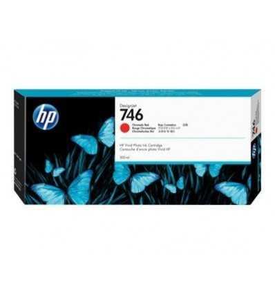 Cartouche d'encre DesignJet HP 746 - Rouge chromatique - 300 ml