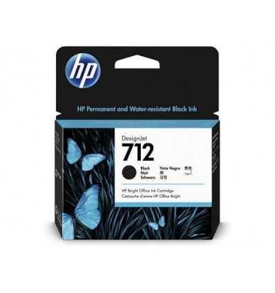 Cartouche d'encre DesignJet HP 712 - Noir - 80 ml