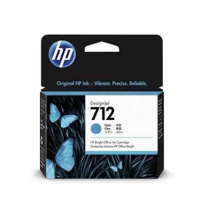 Cartouche d'encre DesignJet HP 712 - Cyan - 29 ml
