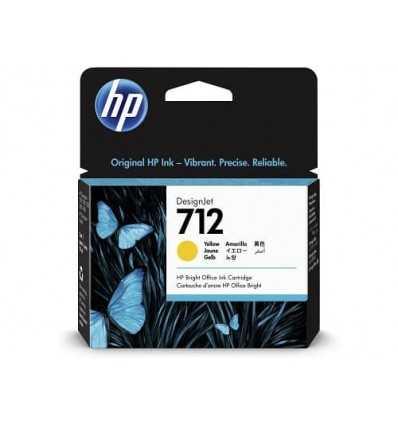 Cartouche d'encre DesignJet HP 712 - Jaune - 29 ml