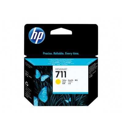 Cartouche d'encre DesignJet HP 711 - Jaune - 29 ml