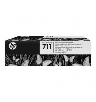 Kit de remplacement pour tete d'impression DesignJet HP 711 - C1Q10A